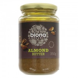 ALMOND BUTTER (Biona) 350g