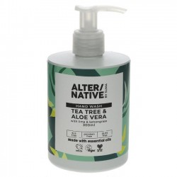 HAND WASH - TEA TREE & ALOE (Alter/native) 300ml
