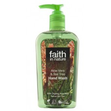 HANDWASH - ALOE VERA & TEA TREE (Faith in Nature) 300ml