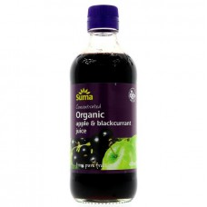 APPLE & BLACKCURRANT CONCENTRATE (Suma) 500ml