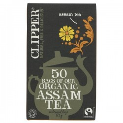ASSAM TEA BAGS (Clipper) x 50
