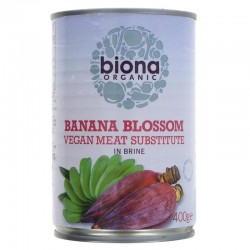 BANANA BLOSSOM IN BRINE (Biona) 400g