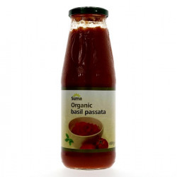 PASSATA with BASIL (Suma) 700g