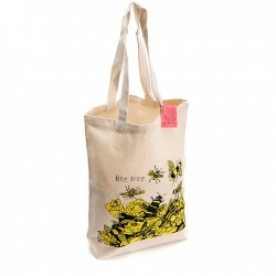 BEE FREE SHOPPING BAG (Arthouse Unlimited)