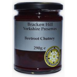 BEETROOT CHUTNEY (Bracken Hill) 290g