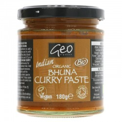 BHUNA CURRY PASTE (Geo Organic) 180g