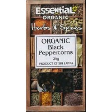 BLACK PEPPERCORNS (Essential) 25g