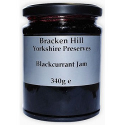 BLACKCURRANT JAM (Bracken Hill) 340g