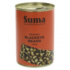 BLACKEYE BEANS (Suma) 400g