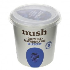 BLUEBERRY ALMOND YOGHURT (Nush) 350g