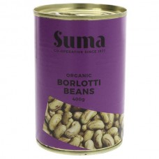 BORLOTTI BEANS (Suma) 400g