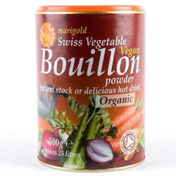 BOUILLON POWDER - VEGAN (Marigold) 500g