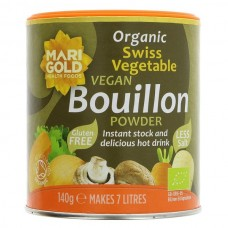 BOUILLON POWDER - REDUCED SALT (Marigold) 140g