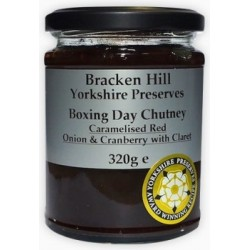 BOXING DAY CHUTNEY (Bracken Hill) 320g