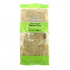 RICE - BROWN BASMATI (Suma) 500g