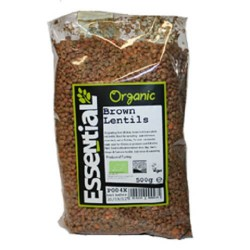 LENTILS - BROWN (Essential) 500g