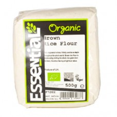 BROWN RICE FLOUR (Essential) 500g