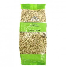 BUCKWHEAT - RAW (Suma) 500g