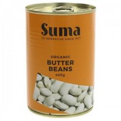 BUTTER BEANS (Suma) 400g