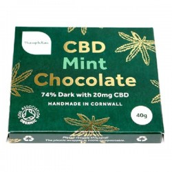 CBD DARK CHOCOLATE - MINT (Themtation) 20g