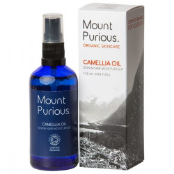 CAMELLIA OIL SKIN & HAIR CARE (Mount Purious.) 100ml