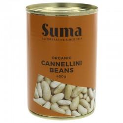 CANNELLINI BEANS (Suma) 400g