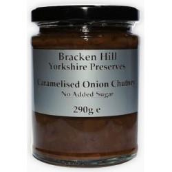 SUGAR FREE CARAMALISED ONION CHUTNEY (Bracken Hill) 300g