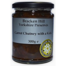 CARROT CHUTNEY WITH A KICK (Bracken Hill) 300g