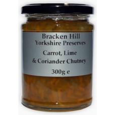 CARROT, LIME & CORIANDER CHUTNEY (Bracken Hill) 300g