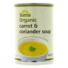 CARROT & CORIANDER SOUP (Suma) 400g