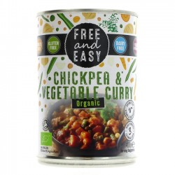 CHICKPEA & VEG CURRY (Free & Easy) 400g