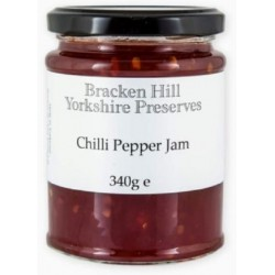 CHILLI PEPPER JAM  (Bracken Hill) 340g