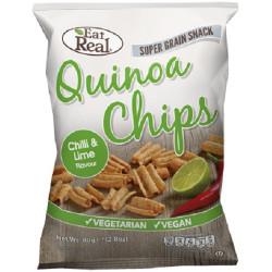 QUINOA CRISPS - CILLI & LIME (Eat Real) 30g