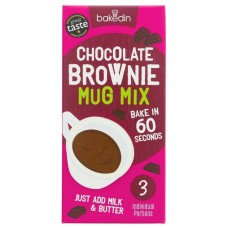 CHOCOLATE BROWNIE MIX (Bakedin) 165g