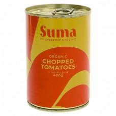 TOMATOES - CHOPPED (Suma) 400g