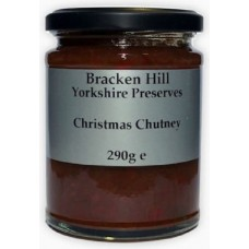 CHRISTMAS CHUTNEY (Bracken Hill) 320g