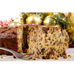 "CHRISTMAS CAKE - 8"" MEDIUM SQUARE (Worsdale) approx 1.8kg"