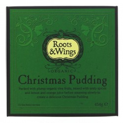 CHRISTMAS PUDDING (Roots & Wings) 454g