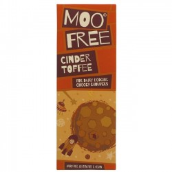VEGAN CINDER TOFFEE CHOCOLATE (Moo Free) 80g