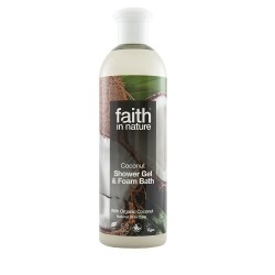 SHOWER GEL - COCONUT (Faith in Nature) 400ml