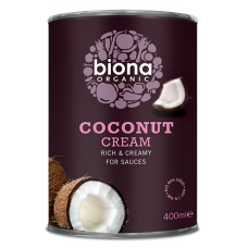 COCONUT CREAM (Biona) 400ml