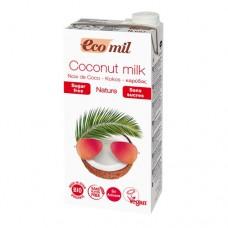COCONUT MILK - SUGAR FREE (Eco-Mil) 1 litre