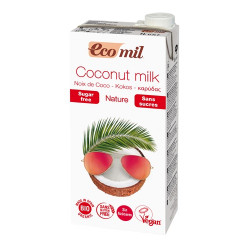 COCONUT MILK - SUGAR FREE (Eco-Mil) 1 litre