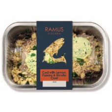 COD WITH LEMON, PARSLEY & RICOTTA CRUST (Ramus) 200g