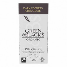 COOKING CHOCOLATE (Green & Blacks) 150g