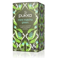 HERBAL MINT MATCHA GREEN (Pukka) x 20 bags