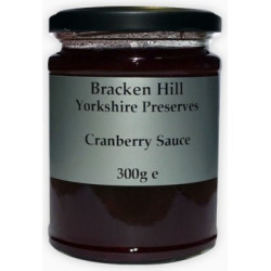 CRANBERRY SAUCE (Bracken Hill)  300g