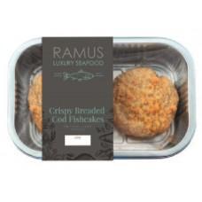 CRISPY COD FISHCAKES (Ramus) 180g