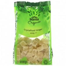 CRYSTALLISED GINGER (Suma) 250g