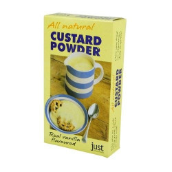 CUSTARD POWDER (Just Wholefoods) 100g